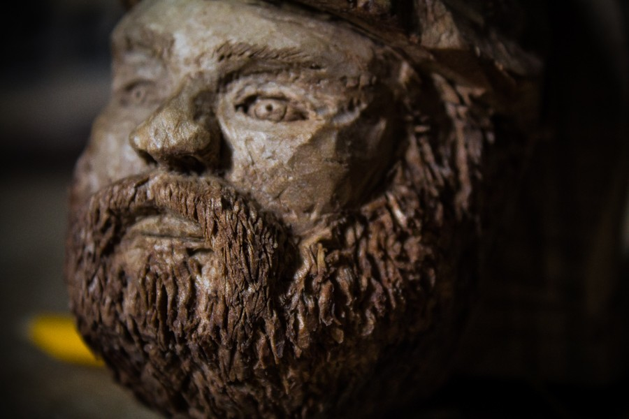 Bearded gnomes - Sculpture