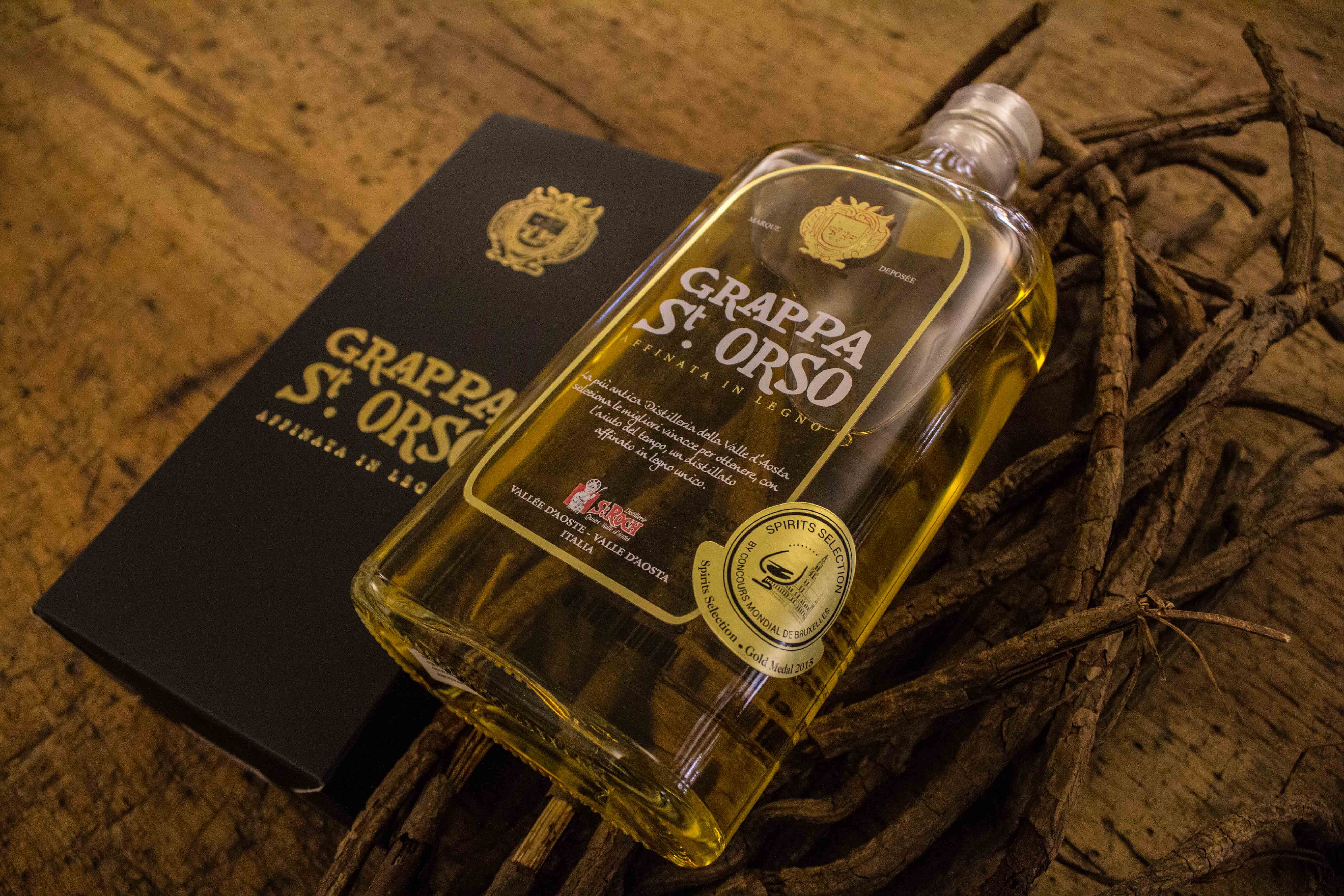 Grappa Sant'Orso - Aged in oak barrels