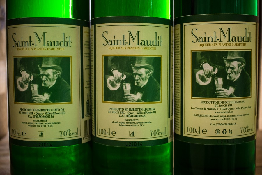 Saint-Maudit - liquore all'assenzio