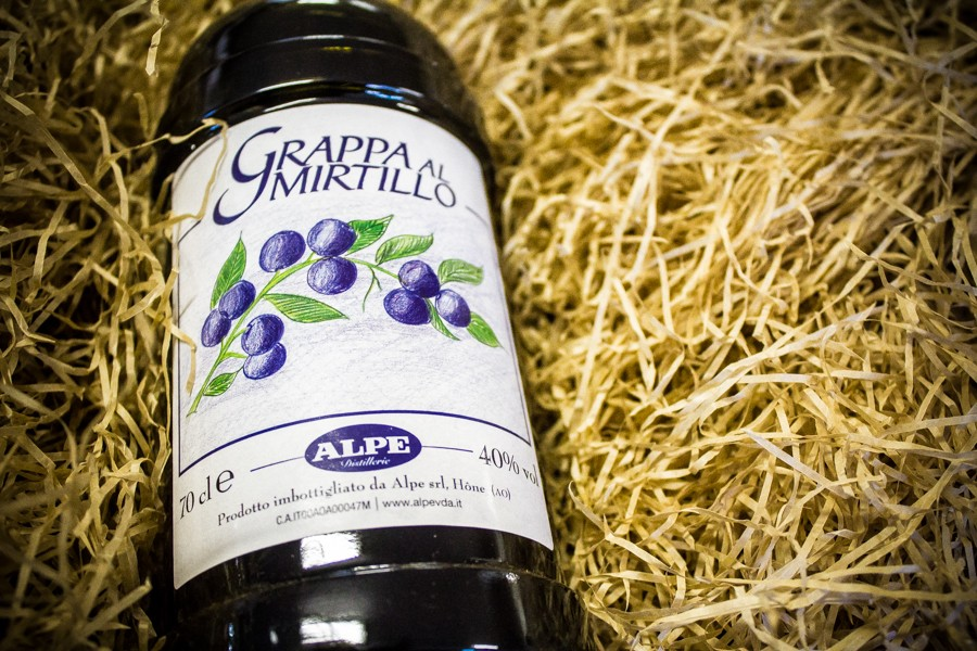 Grappa al Mirtillo Alpe