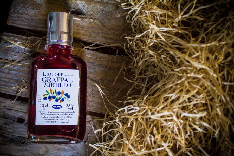 Blueberry Grappa Alpe