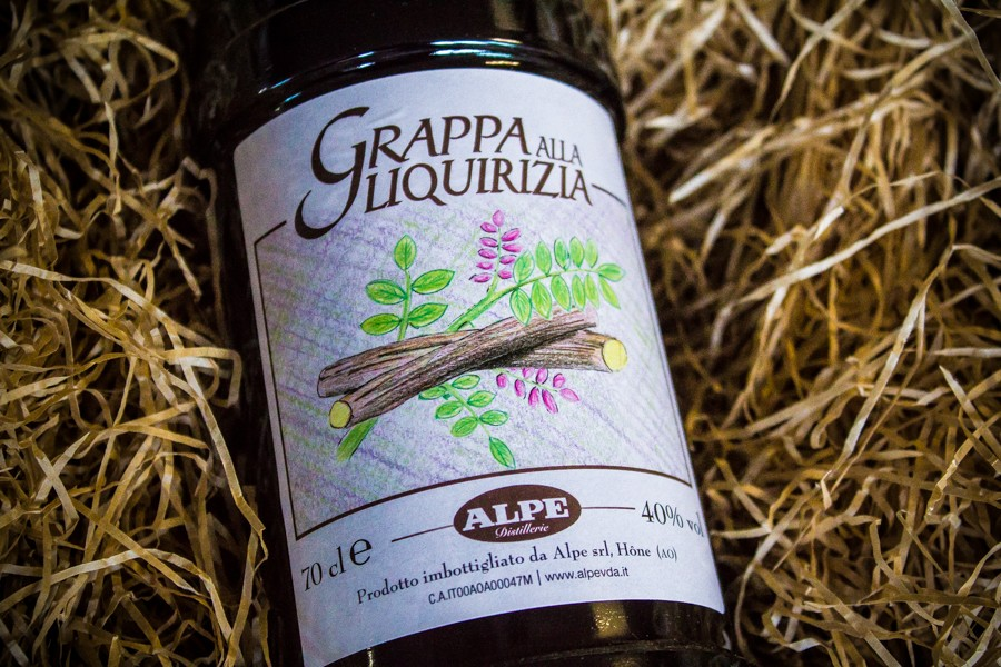 Licorice Grappa Alpe