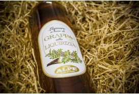 Licorice grappa liqueur Alpe