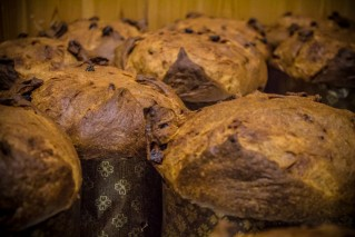 Panettone - mountain butter