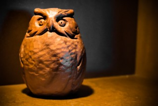 Hibou Sculpture