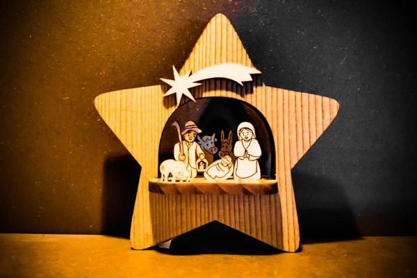 Nativity Star - Sculpture