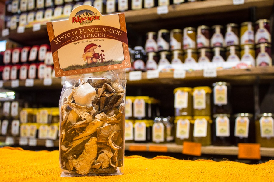 Dried Mushrooms with Porcino Alpenzu